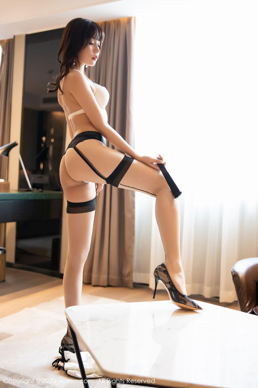 [XiuRen] Vol.2195 Zhi Zhi Booty 64P, Chen Zhi, Cheongsam, Tall, Underwear, Xiuren