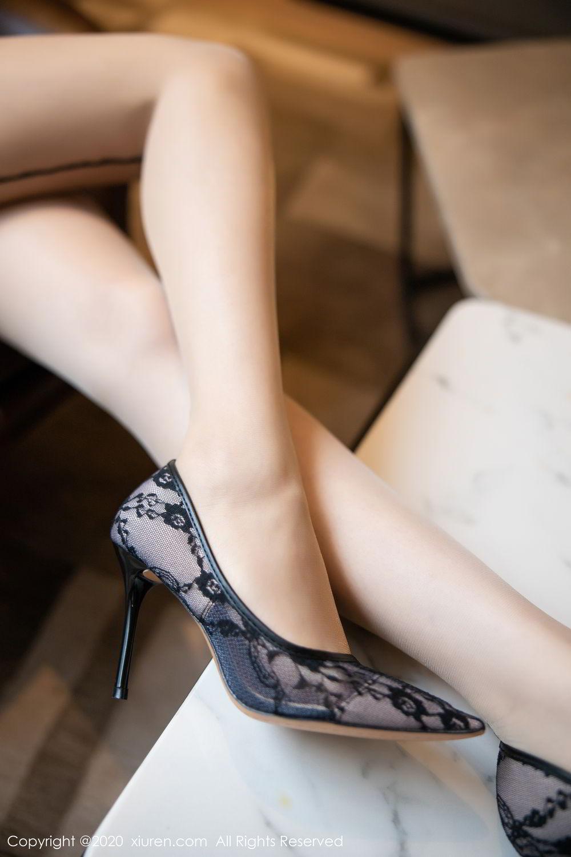 [XiuRen] Vol.2195 Zhi Zhi Booty 66P, Chen Zhi, Cheongsam, Tall, Underwear, Xiuren