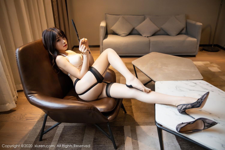 [XiuRen] Vol.2195 Zhi Zhi Booty 69P, Chen Zhi, Cheongsam, Tall, Underwear, Xiuren