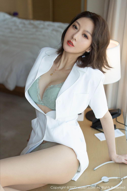 [XiuRen] Vol.2199 Fu Yi Xuan 24P, Fu Yi Xuan, Tall, Temperament, Underwear, Xiuren