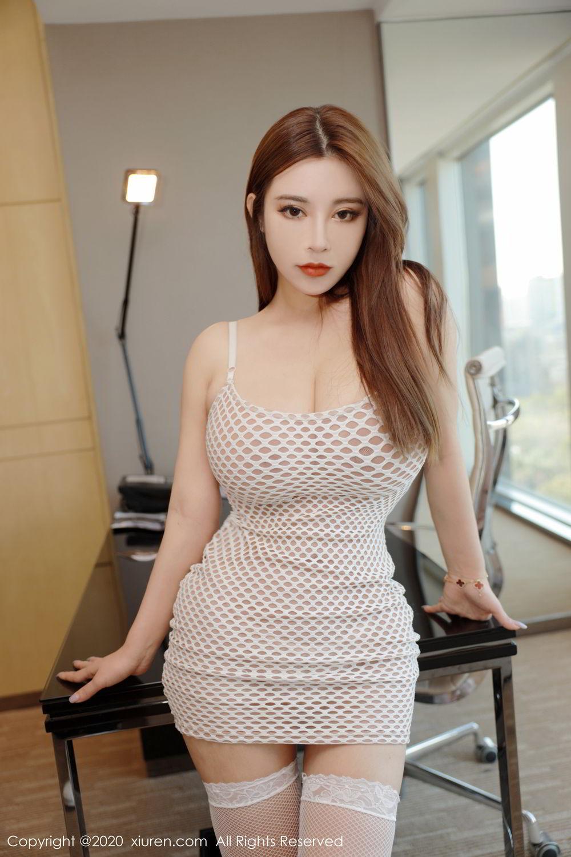 [XiuRen] Vol.2210 Ruan Ruan Roro 3P, Ruan Ruan Jiang, Underwear, Xiuren