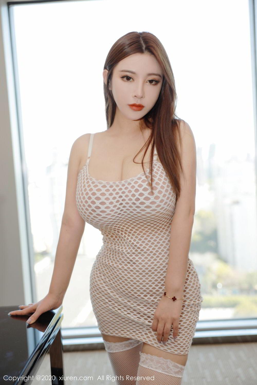 [XiuRen] Vol.2210 Ruan Ruan Roro 4P, Ruan Ruan Jiang, Underwear, Xiuren
