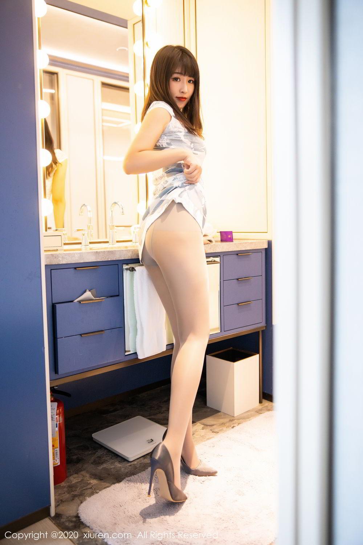 [XiuRen] Vol.2211 Tong Qian Yi 17P, Cheongsam, Underwear, Xiuren
