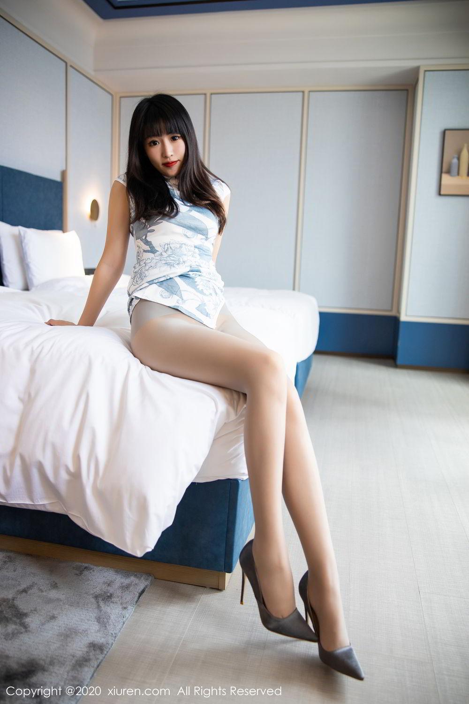 [XiuRen] Vol.2211 Tong Qian Yi 29P, Cheongsam, Underwear, Xiuren