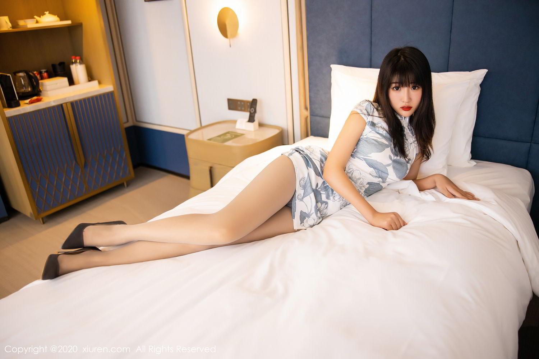 [XiuRen] Vol.2211 Tong Qian Yi 41P, Cheongsam, Underwear, Xiuren