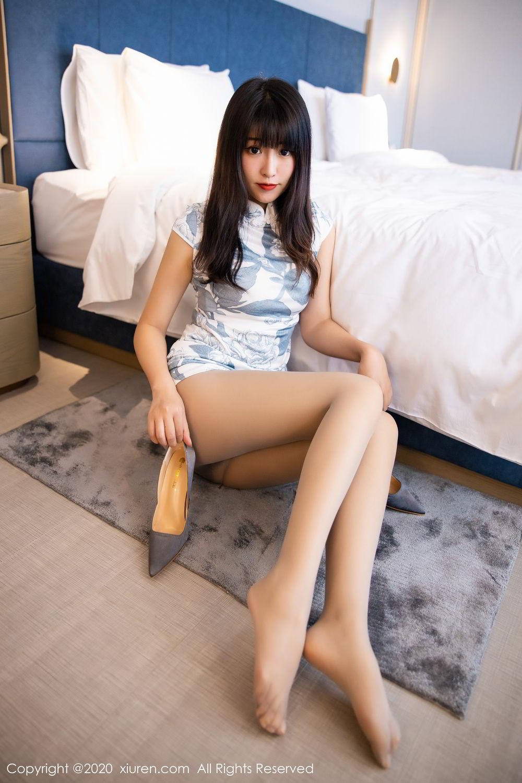 [XiuRen] Vol.2211 Tong Qian Yi 47P, Cheongsam, Underwear, Xiuren
