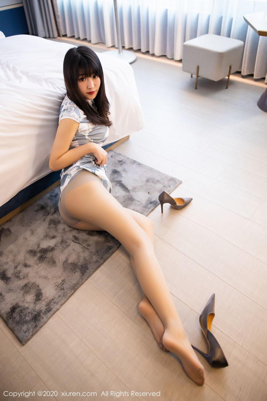 [XiuRen] Vol.2211 Tong Qian Yi 51P, Cheongsam, Underwear, Xiuren