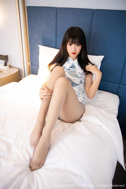 [XiuRen] Vol.2211 Tong Qian Yi 58P, Cheongsam, Underwear, Xiuren