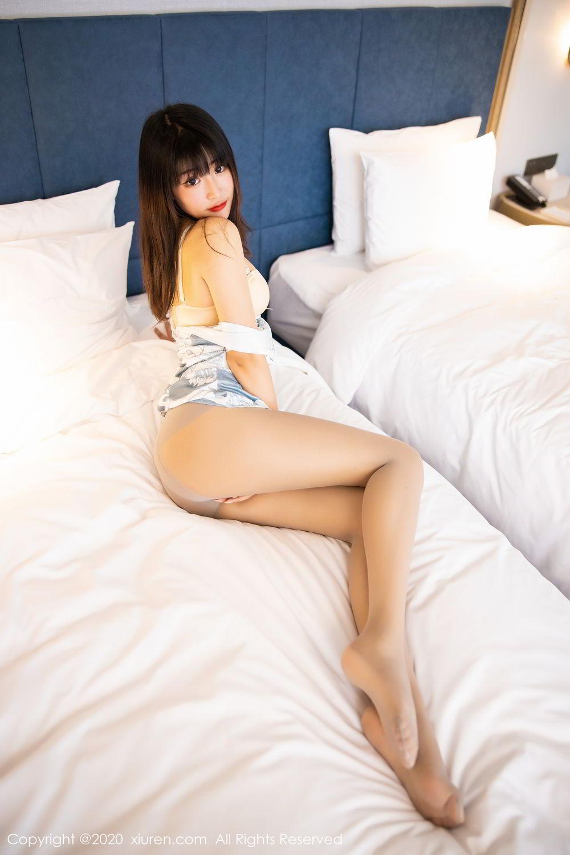 [XiuRen] Vol.2211 Tong Qian Yi 5P, Cheongsam, Underwear, Xiuren