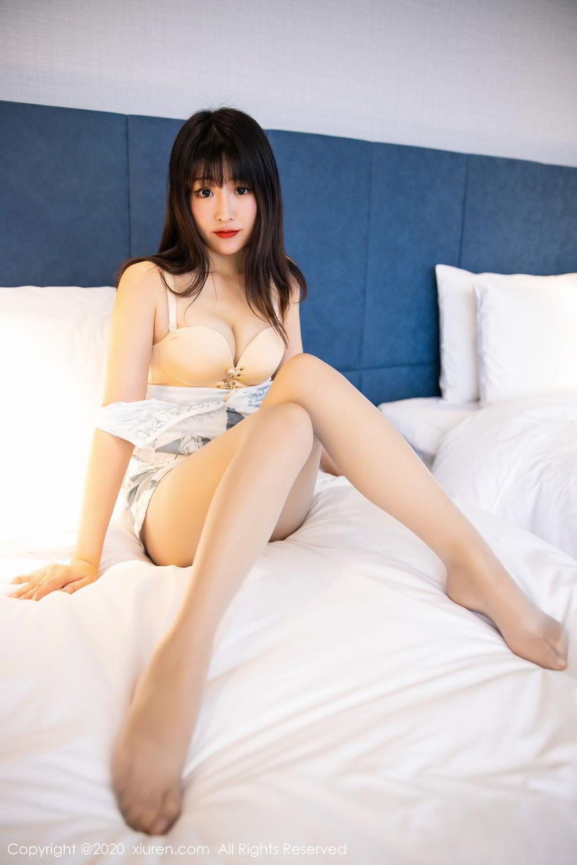 [XiuRen] Vol.2211 Tong Qian Yi 60P, Cheongsam, Underwear, Xiuren