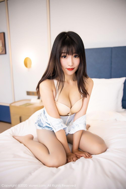 [XiuRen] Vol.2211 Tong Qian Yi 67P, Cheongsam, Underwear, Xiuren