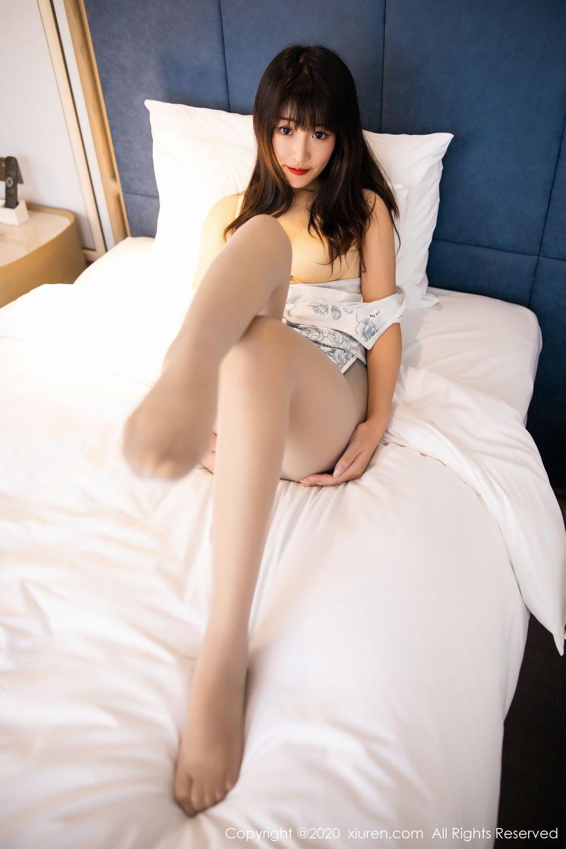 [XiuRen] Vol.2211 Tong Qian Yi 69P, Cheongsam, Underwear, Xiuren