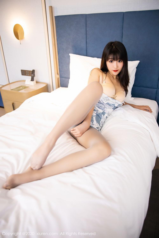 [XiuRen] Vol.2211 Tong Qian Yi 70P, Cheongsam, Underwear, Xiuren