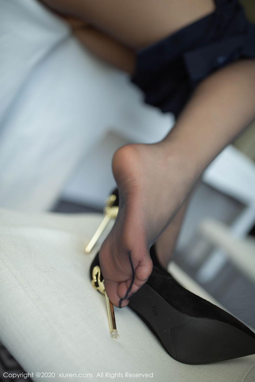 [XiuRen] Vol.2213 Chen Xiao Miao 53P, Black Silk, Chen Xiao Miao, Underwear, Uniform, Xiuren