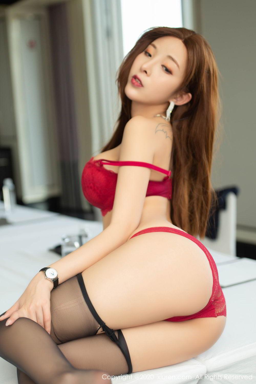 [XiuRen] Vol.2213 Chen Xiao Miao 67P, Black Silk, Chen Xiao Miao, Underwear, Uniform, Xiuren