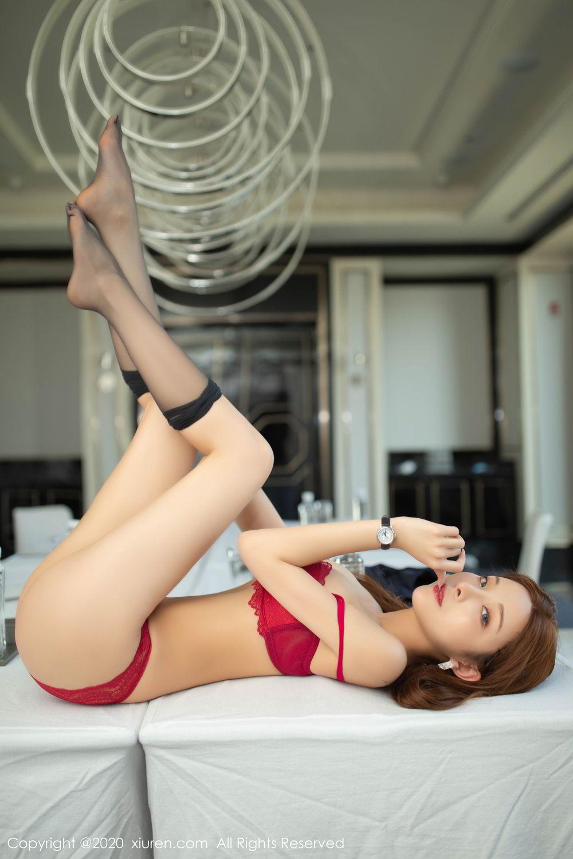 [XiuRen] Vol.2213 Chen Xiao Miao 73P, Black Silk, Chen Xiao Miao, Underwear, Uniform, Xiuren