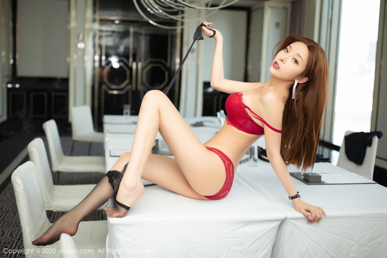 [XiuRen] Vol.2213 Chen Xiao Miao 76P, Black Silk, Chen Xiao Miao, Underwear, Uniform, Xiuren