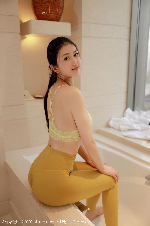 [XiuRen] Vol.2214 E Bao Xiao Ye Mao 14P, Adult, Bathroom, E Bao Xiao Ye Mao, Underwear, Xiuren