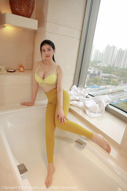 [XiuRen] Vol.2214 E Bao Xiao Ye Mao 5P, Adult, Bathroom, E Bao Xiao Ye Mao, Underwear, Xiuren