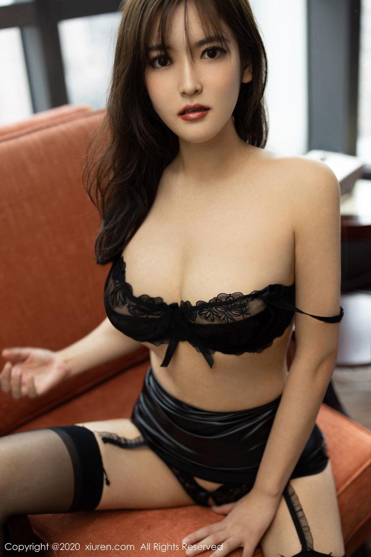 [XiuRen] Vol.2215 Bai Lu Xiao Zhu 22P, Bai Lu Xiao Zhu, Black Silk, Underwear, Xiuren