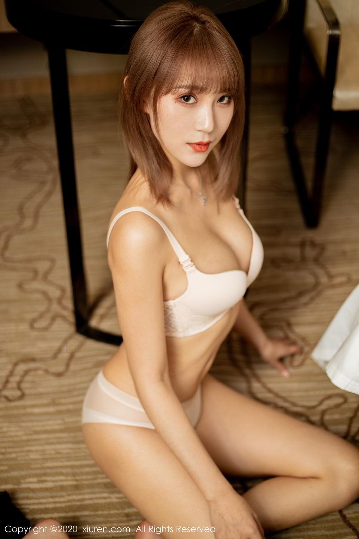 [XiuRen] Vol.2224 Zhou Mu Xi 48P, Black Silk, Underwear, Uniform, Xiuren, Zhou Mu Xi