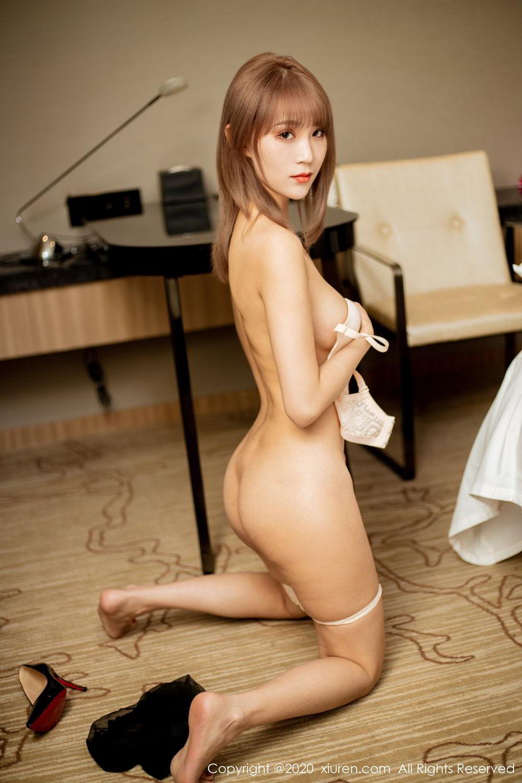 [XiuRen] Vol.2224 Zhou Mu Xi 54P, Black Silk, Underwear, Uniform, Xiuren, Zhou Mu Xi