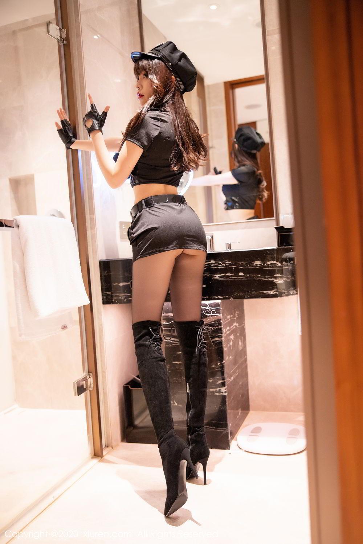 [XiuRen] Vol.2226 Chen Zhi 18P, Black Silk, Chen Zhi, Policewoman, Uniform, Xiuren
