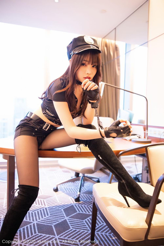 [XiuRen] Vol.2226 Chen Zhi 29P, Black Silk, Chen Zhi, Policewoman, Uniform, Xiuren