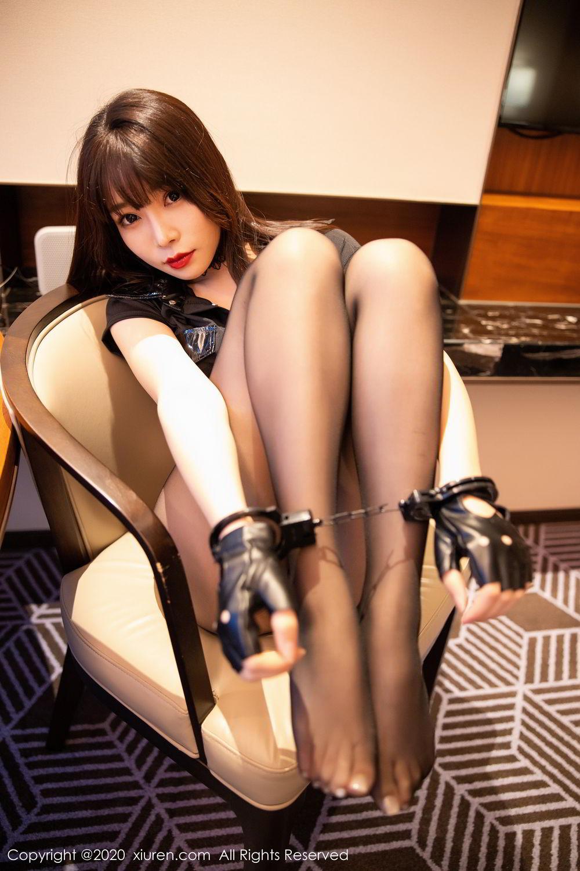 [XiuRen] Vol.2226 Chen Zhi 49P, Black Silk, Chen Zhi, Policewoman, Uniform, Xiuren
