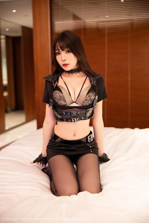 [XiuRen] Vol.2226 Chen Zhi 52P, Black Silk, Chen Zhi, Policewoman, Uniform, Xiuren
