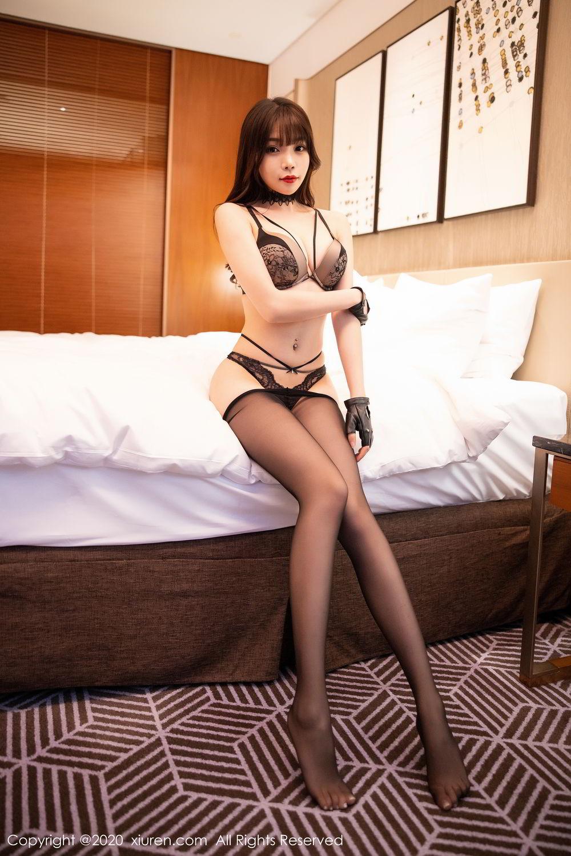 [XiuRen] Vol.2226 Chen Zhi 59P, Black Silk, Chen Zhi, Policewoman, Uniform, Xiuren