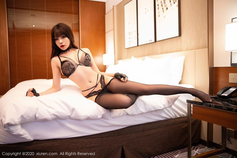 [XiuRen] Vol.2226 Chen Zhi 60P, Black Silk, Chen Zhi, Policewoman, Uniform, Xiuren