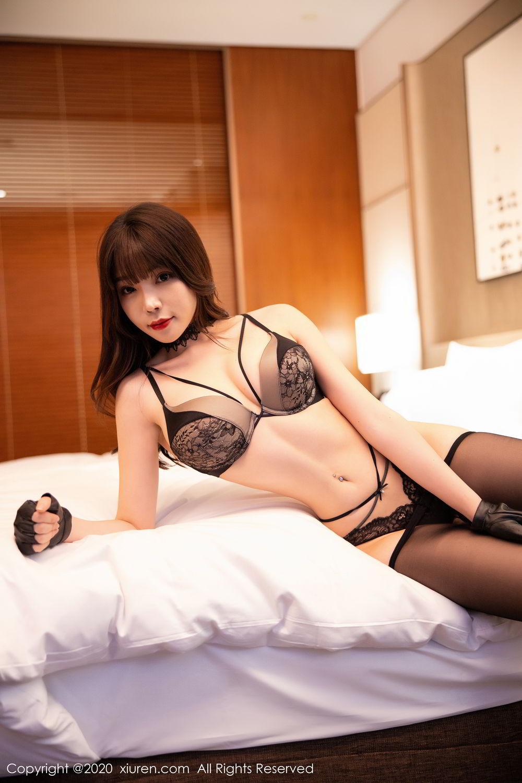 [XiuRen] Vol.2226 Chen Zhi 61P, Black Silk, Chen Zhi, Policewoman, Uniform, Xiuren
