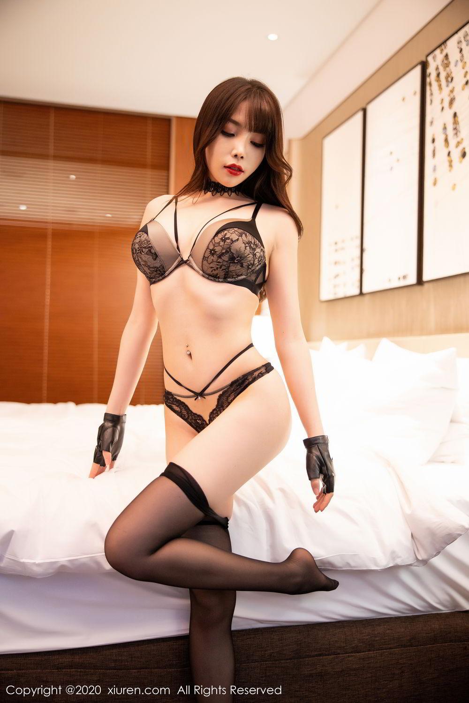 [XiuRen] Vol.2226 Chen Zhi 65P, Black Silk, Chen Zhi, Policewoman, Uniform, Xiuren