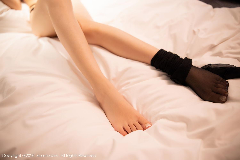 [XiuRen] Vol.2226 Chen Zhi 69P, Black Silk, Chen Zhi, Policewoman, Uniform, Xiuren