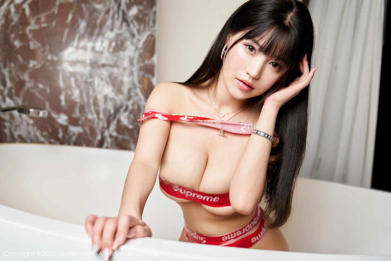 [XiuRen] Vol.2227 Zhu Ke Er 56P, Bathroom, Xiuren, Zhu Ke Er