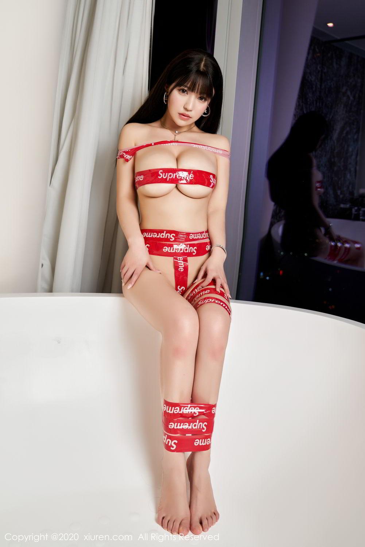 [XiuRen] Vol.2227 Zhu Ke Er 61P, Bathroom, Xiuren, Zhu Ke Er