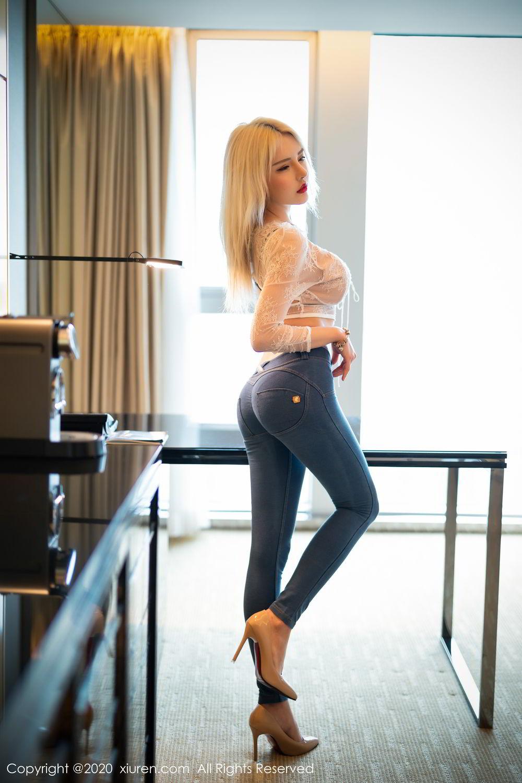 [XiuRen] Vol.2228 Lovely Lu Lu 7P, Underwear, Wang Zhao Lu, Xiuren