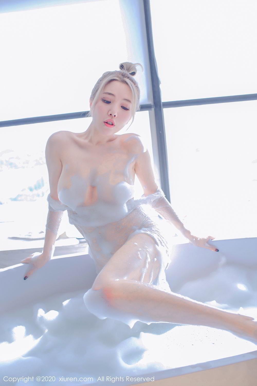 [XiuRen] Vol.2231 Huang Le Ran 58P, Bathroom, Huang Le Ran, Underwear, Wet, Xiuren