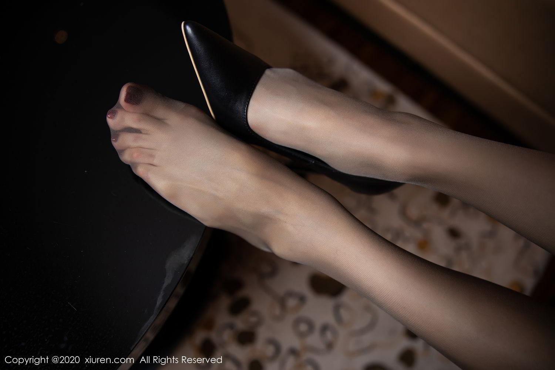 [XiuRen] Vol.2234 Meng Xin Yue 93P, Black Silk, Meng Xin Yue, Stewardess, Tall, Underwear, Uniform, Xiuren