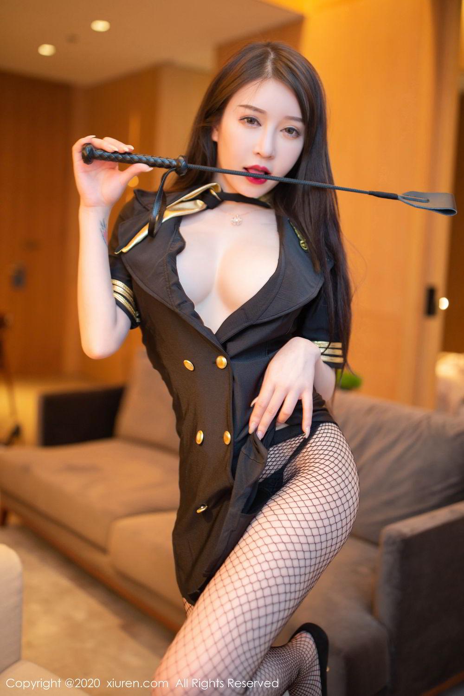 [XiuRen] Vol.2235 Yu Tu Miki 15P, Stewardess, Tall, Underwear, Xiuren, Yu Tu M I K I