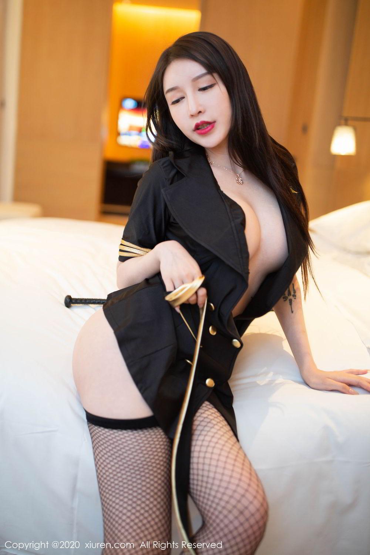 [XiuRen] Vol.2235 Yu Tu Miki 36P, Stewardess, Tall, Underwear, Xiuren, Yu Tu M I K I