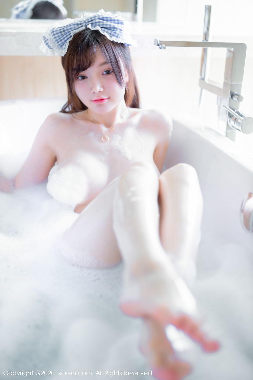 [XiuRen] Vol.2236 Nuo Mei Zi 5P, Adult, Baby Face Big Boobs, Bathroom, Mini Da Meng Meng, Wet, Xiuren