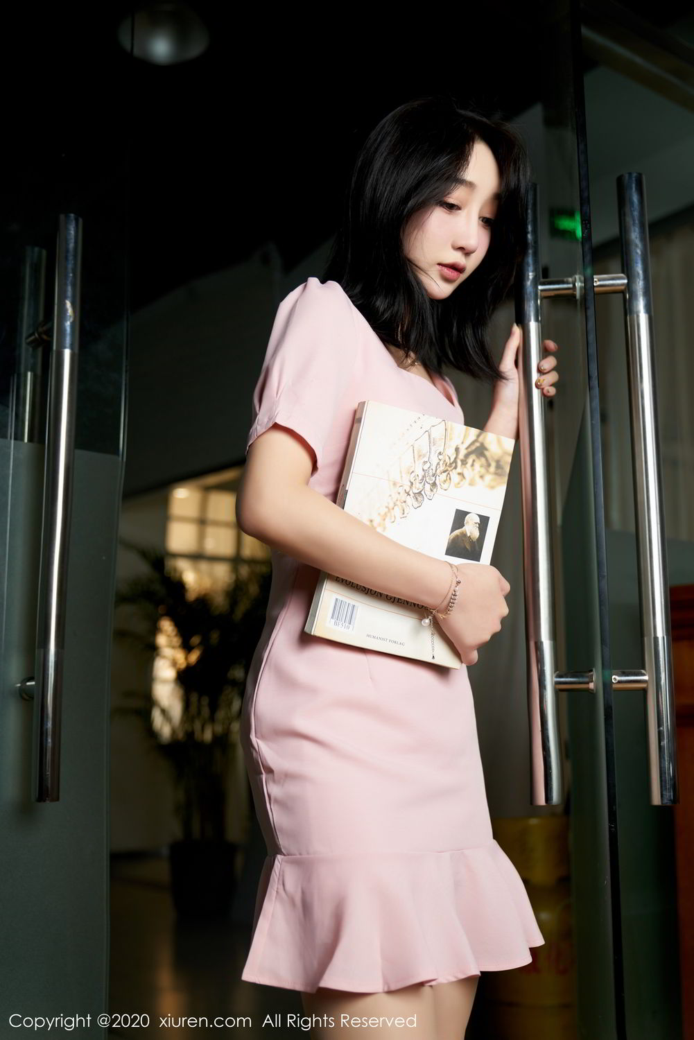 [XiuRen] Vol.2247 Lin Zi Xin 43P, Black Silk, Lin Zi Xin, Tall, Uniform, Xiuren