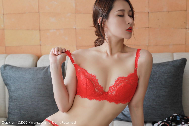 [XiuRen] Vol.2248 Xu An An 33P, Black Silk, Peach Hip, Underwear, Xiuren, Xu An An