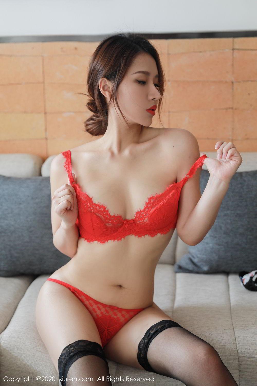 [XiuRen] Vol.2248 Xu An An 34P, Black Silk, Peach Hip, Underwear, Xiuren, Xu An An