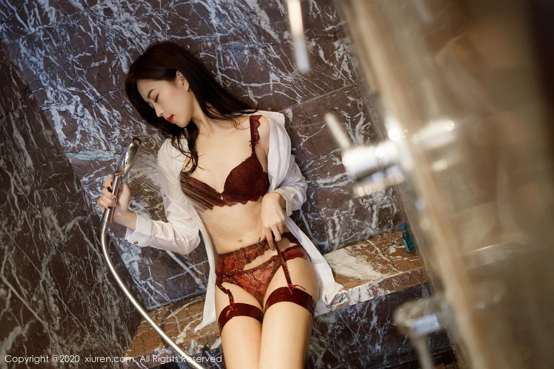 [XiuRen] Vol.2249 Yang Zi Yan 31P, Bathroom, Temperament, Underwear, Wet, Xiuren, Yang Zi Yan