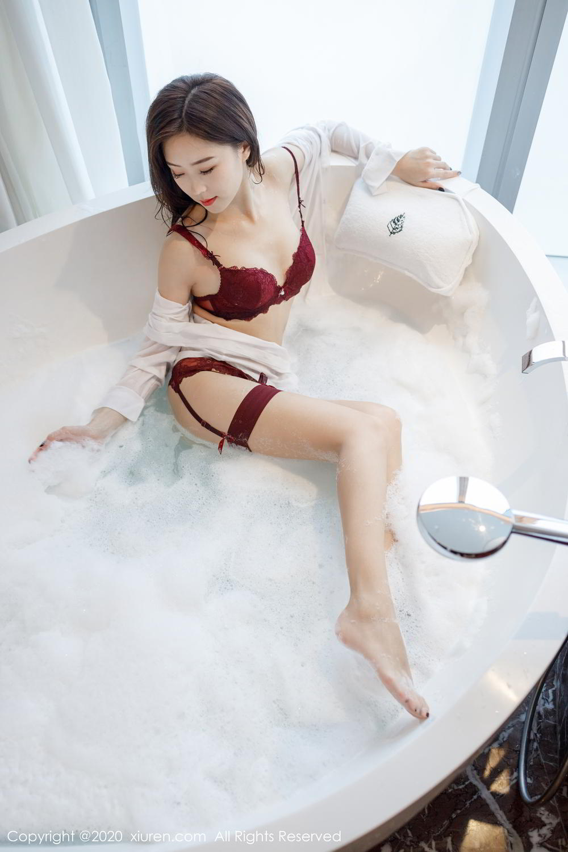 [XiuRen] Vol.2249 Yang Zi Yan 50P, Bathroom, Temperament, Underwear, Wet, Xiuren, Yang Zi Yan