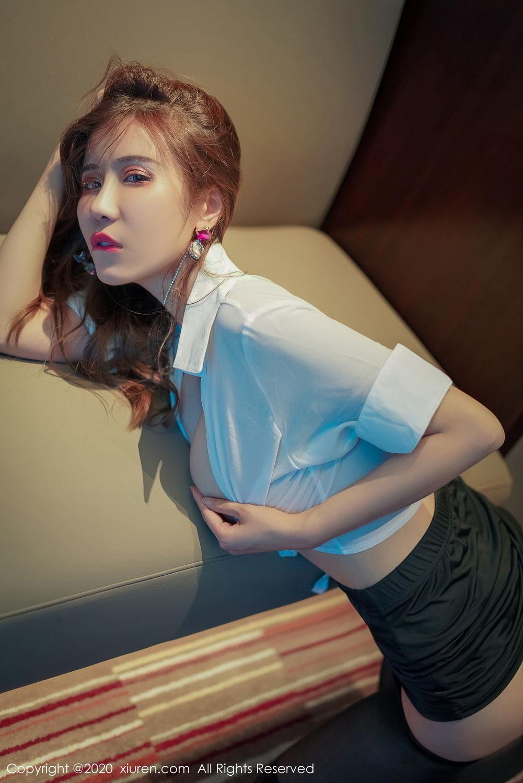[XiuRen] Vol.2253 Tian Xiao Yan 14P, Black Silk, Tian Xiao Yan, Underwear, Xiuren