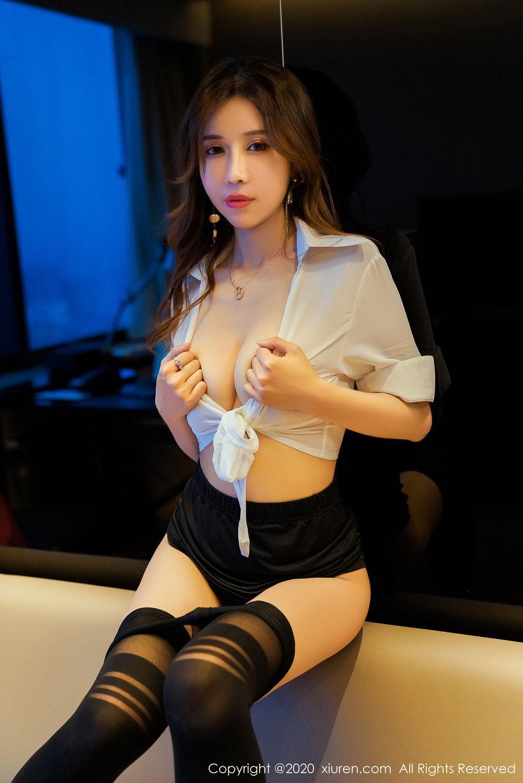 [XiuRen] Vol.2253 Tian Xiao Yan 25P, Black Silk, Tian Xiao Yan, Underwear, Xiuren